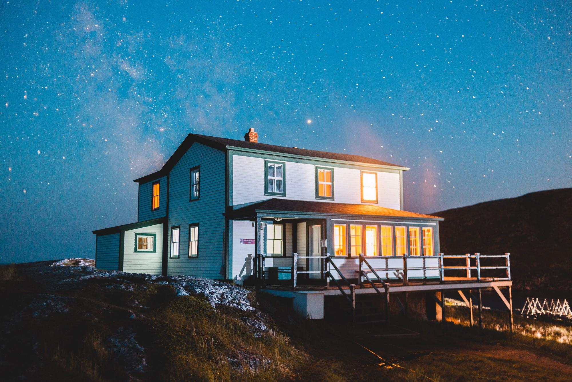 jak oświetlić dom
