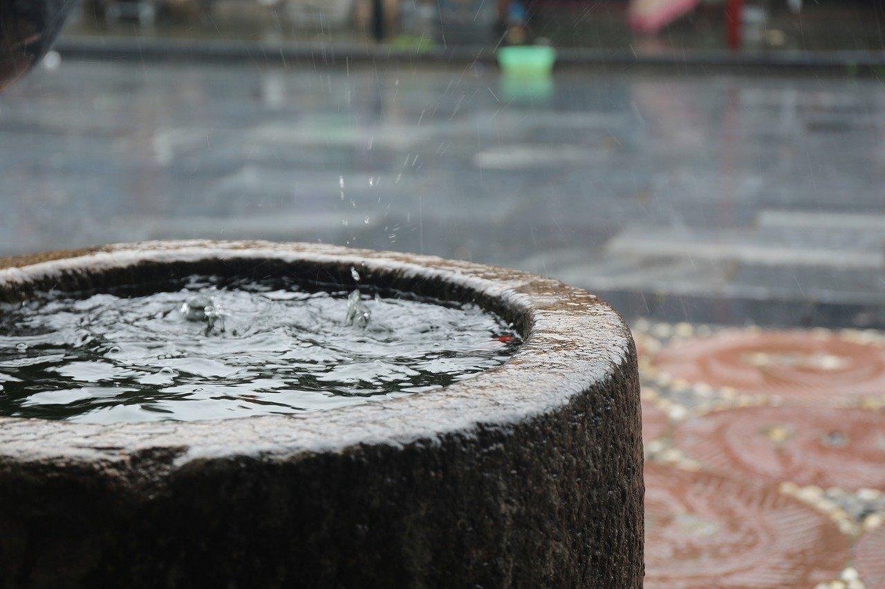 zbiornik na wodę deszczową